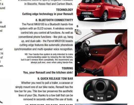 Renault Clio IMusic Bluetooth Memory Full | Independent Renault Forums