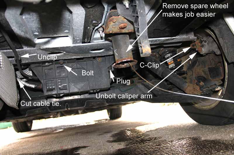 Grand Scenic Electronic Handbrake Stripdown Plus Photos Renault
