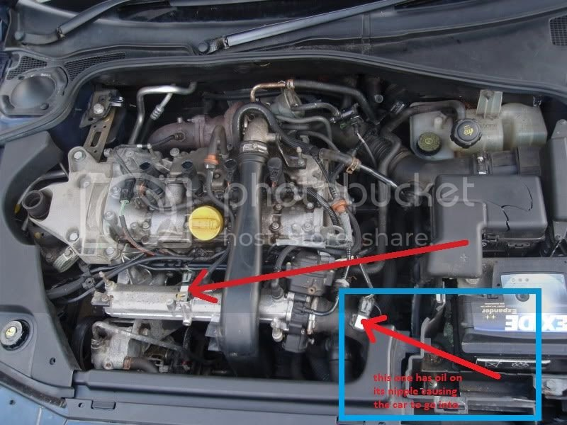 help please oil on my sensor engages limp mode   Independent Renault