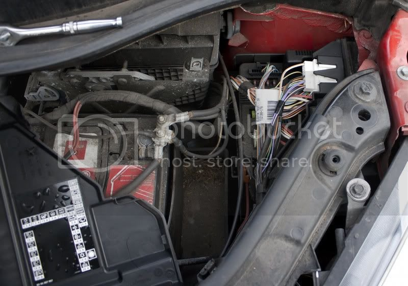 Scenic II Under Bonnet Fuse Box Access - with Pics ... on