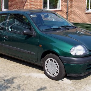 The Clio when bought back in 2006
